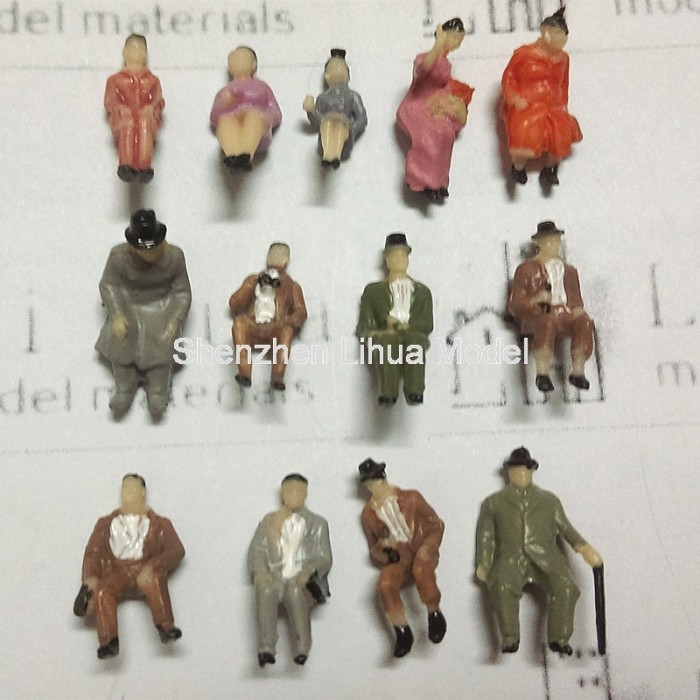 1 87 Ho Gauge Boutique Sitting Figures Ho Scale Sitting