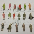 1:87 standing boutique  figures---scale figure painted figure
