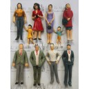 1:25 all standing G scale figures